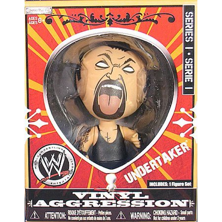 Undertaker Vinyl Aggression Series 1 WWE Jakks 3-Inch Action Wrestling Figure By Jakks Pacific From USA](Wrestling Masks For Sale)