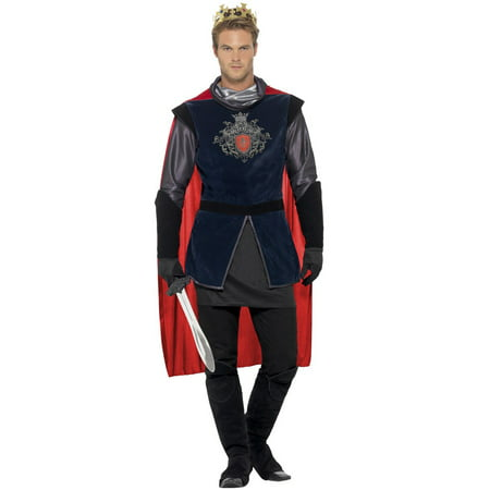 Gallant King Arthur Adult Costume