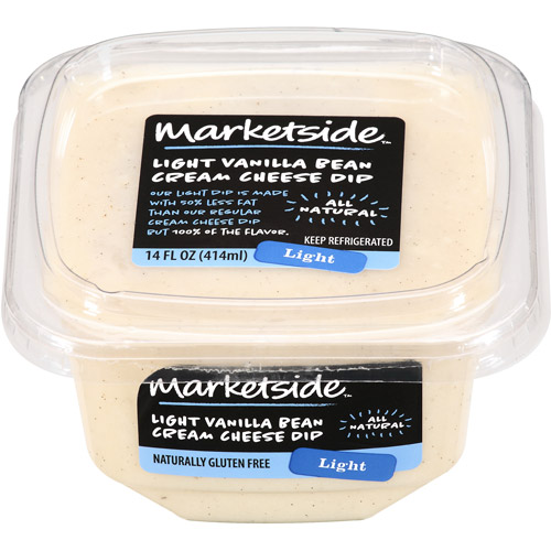 Marketside Light Vanilla Bean Cream Cheese Dip, 14 fl oz
