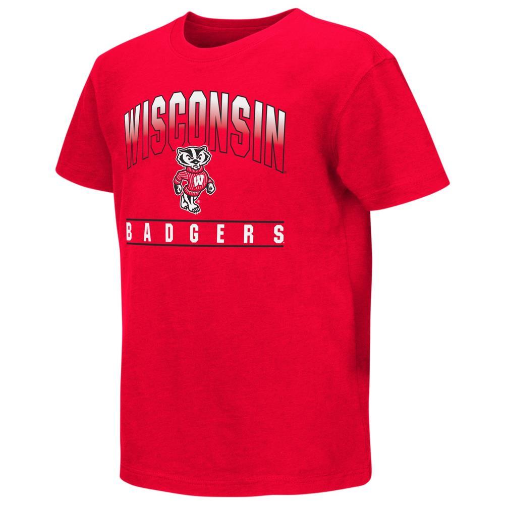 University of Wisconsin Badgers Youth Golden Boy Short Sleeve Tee