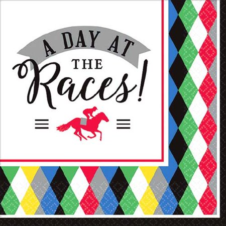 Kentucky Derby 'Derby Day' Small Napkins (16ct) - Kentucky Derby City