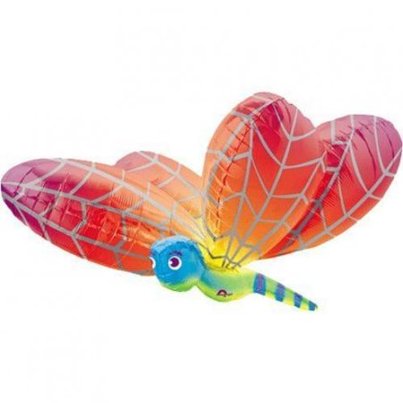 Dragonfly Balloon - Huge 40 Inch Dragonfly Shaped Foil Mylar Balloon