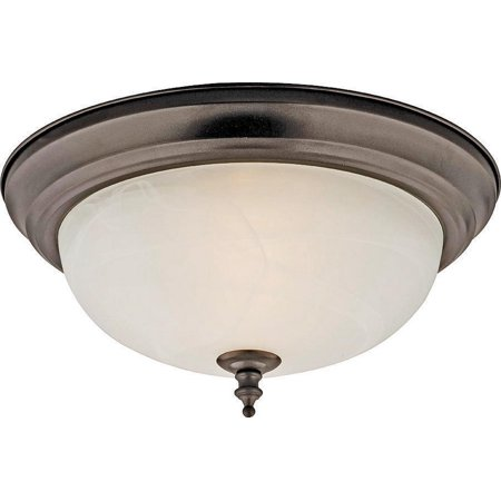 boston harbor f51wh02-1005-orb 5926944 dimmable ceiling light fixture, (2) 60/13 w medium a19/cfl lamp Ceiling Fixture Boston Harbor