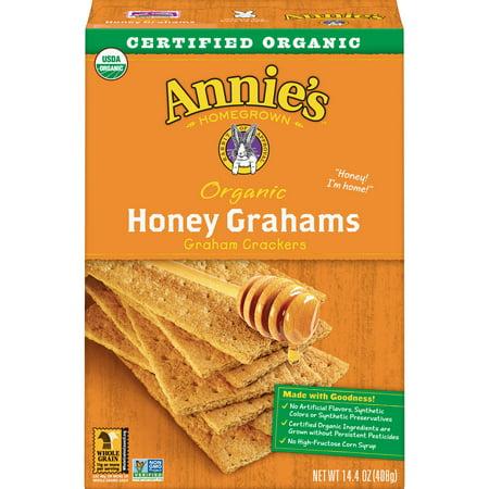 Annie's Organic Honey Graham Crackers, 14.4 oz Box - Halloween Treats With Graham Crackers