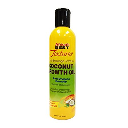 Africa's Best Textures Coconut Growth Oil Remedy 8