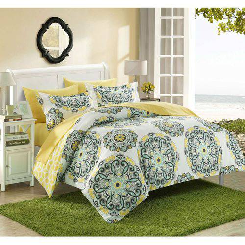 Chic Home 3-Piece Aragona Super Soft Microfiber Duvet Set