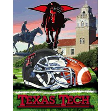 Texas Tech Woven Tapestry Throw Blanket