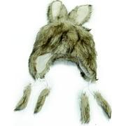 Faux Fur Tan Bunny Adult Costume Hat