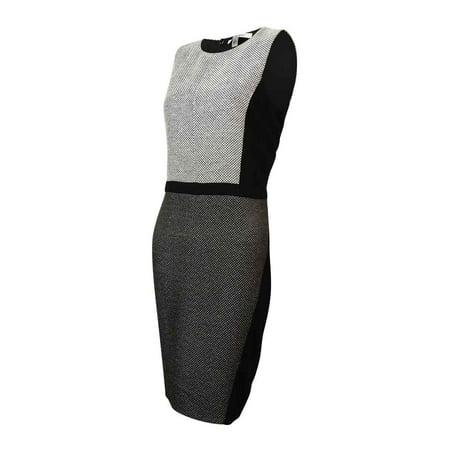 Dknyc Dknyc Womens Honeycomb Ponte Sheath Dress Walmart