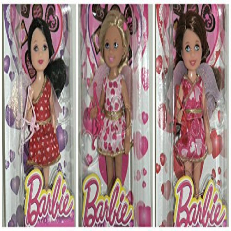 Mattel Barbie Valentine's Day 2014 Kelly Chelsea Madison ...