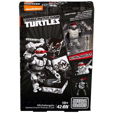 Michelangelo Figures Eastman & Laird Collector's (Teenage Mutant Ninja Turtles Black And White Comic)