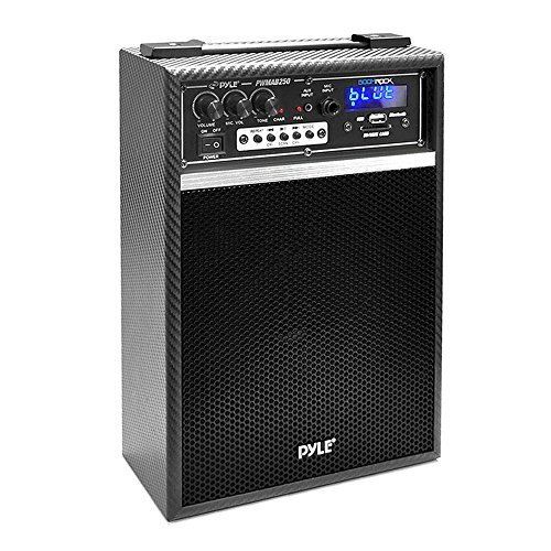 """Pyle-Pro 300-Watt Bluetooth 6.5"""" Portable PA Speaker System with Built-in... by Pyle"""