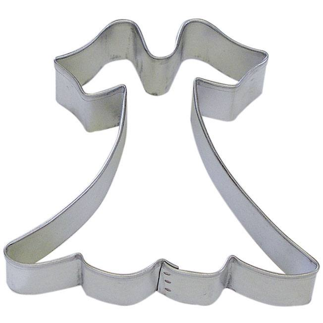 Dress 4 in B1657 - R&M Brand Cookie Cutters - Tin Plate Steel