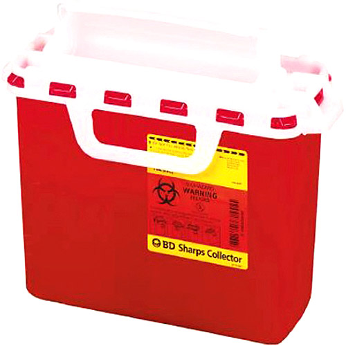 Sharps Container Next Generation 5.4 Quart Red  1/CS