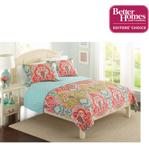 Better Homes and Gardens Jeweled Damask Bedding Quilt Collection by Victoria Classics