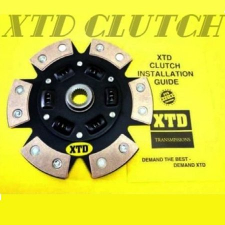 XTD STAGE 3 PERFORANCE CLUTCH DISC fits 04-10 SUBARU WRX STI ()