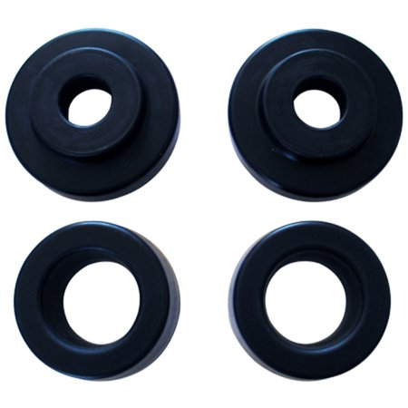- Daystar PADL231PA Coil Spring Leveling System; 2 in. Lift; Incl. 2 Front Coil Spacers; 2 Rear Coil Spacers; 2 Short Shock Bushing Spacers; Non Air-Ride;