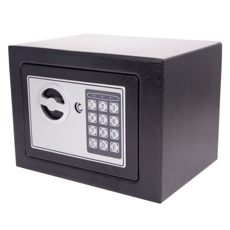 Electronic Lock Box (Electronic di gital Safe Box Keypad Lock Security Home Office Cash Jewelry Gun )