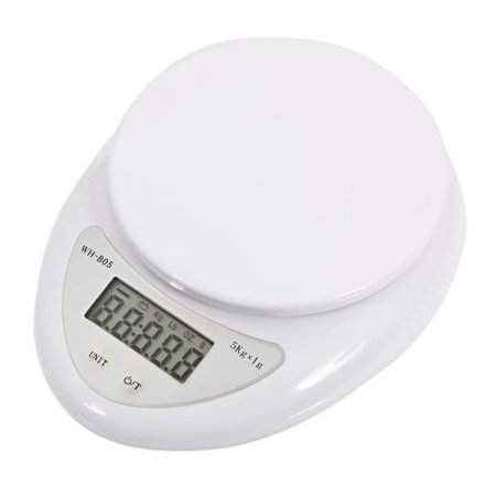 5Kg/1g Kitchen Mail LCD Digital Scale White (Mail Scale)
