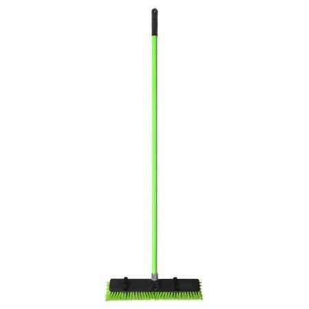 superio push broom 18. Black Bedroom Furniture Sets. Home Design Ideas