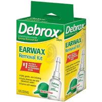 GlaxoSmithKline Debrox  Earwax Removal Kit, 0.5