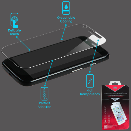 Premium Shatterproof Tempered Glass Screen Protector for MOTOROLA Moto G