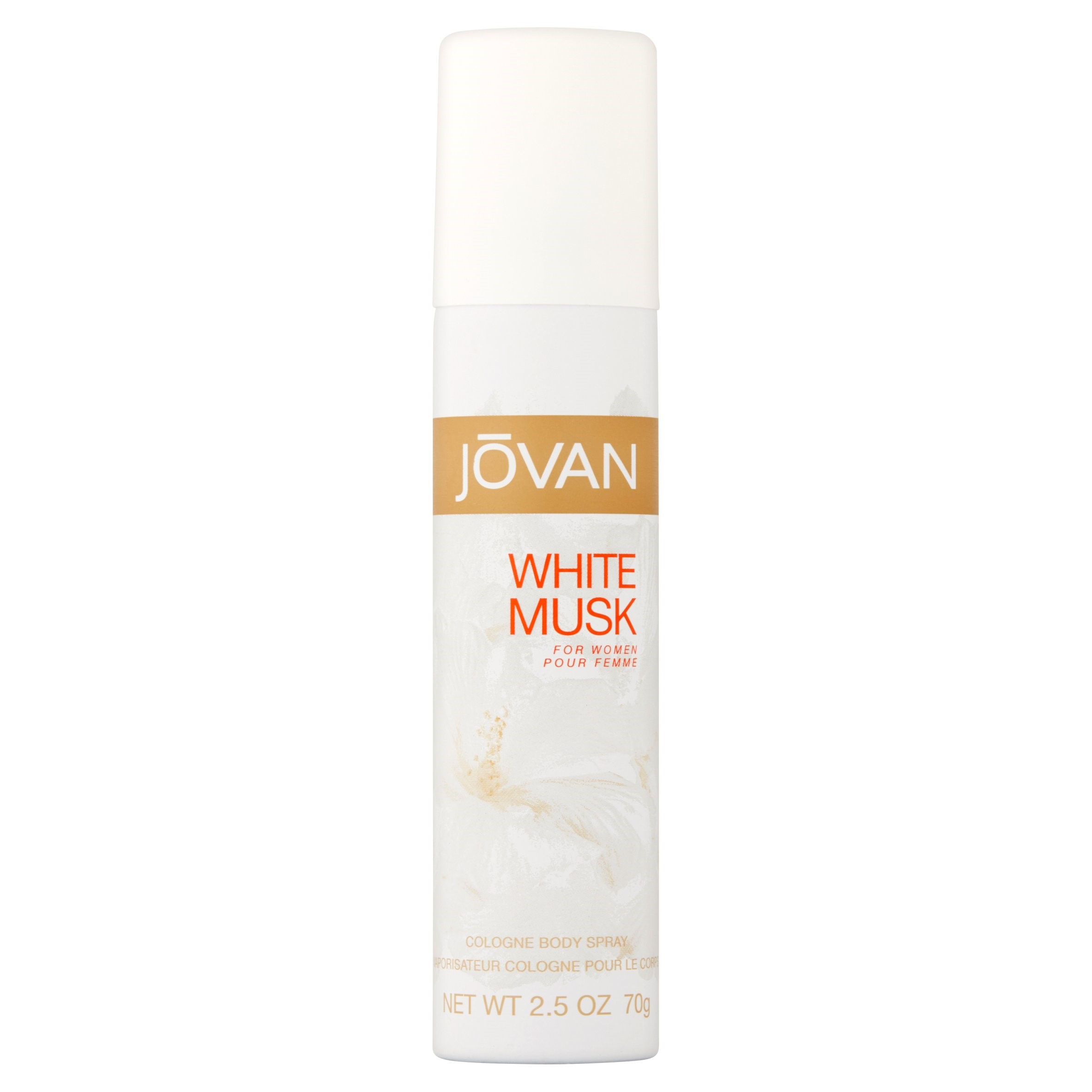 Jovan White Musk for Women Cologne Body Spray, 2.5 oz