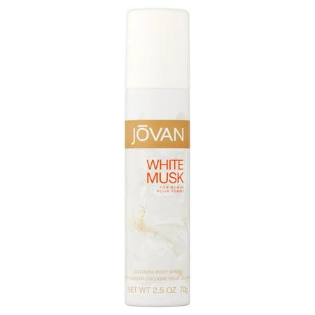 Vanilla Musk Body (Jovan White Musk Body Spray for Women, 2.5 fl)