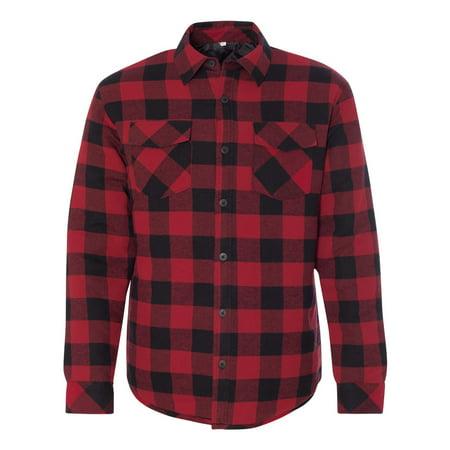 Burnside 8610 Quilted Flannel Jacket