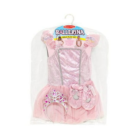 Melissa Doug Girl Dress - Girls' Melissa & Doug Ballerina Role Play Set  18