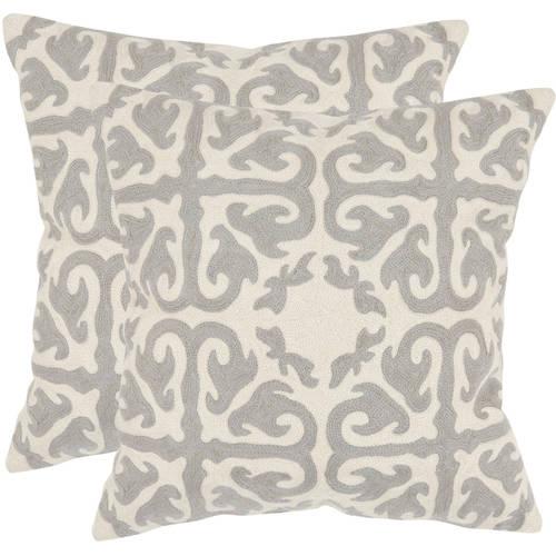 Safavieh Moroccan Geometric Pillow, Set of 2