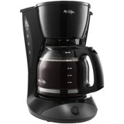 Mr. Coffee, MFEDW13NP, Simple Brew 12-Cup Switch Coffee Maker Black, Black