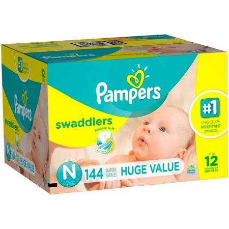 UPC 037000947981 - Pampers Swaddlers Diapers Size Newborn ...