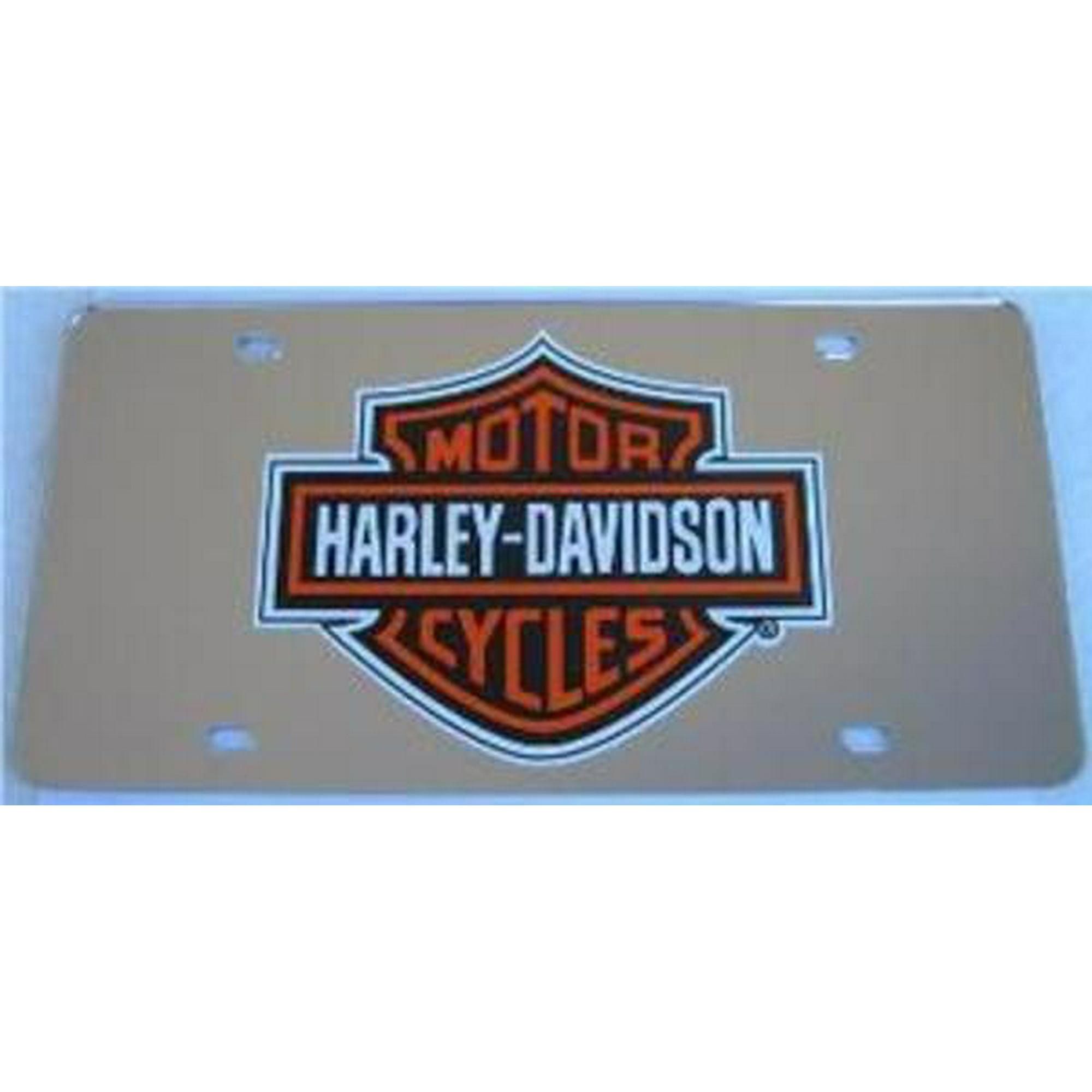 Harley davidson silver laser license plate walmart canada