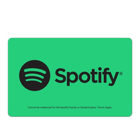 Spotify $10 Gift Card (Email Delivery) (Wii U 10$ Gift Card)