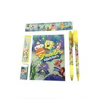 Stationery Set - Spongebob Squarepants - Green - 6pc Favor Set