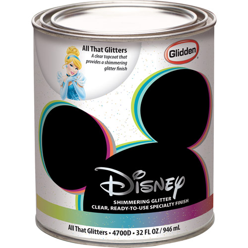 Disney All That Glitters Interior Specialty Paint, 1-Quart