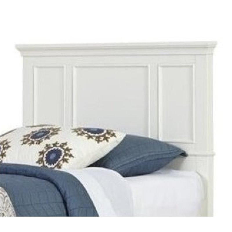 Hawthorne Collections Twin Panel Headboard in White