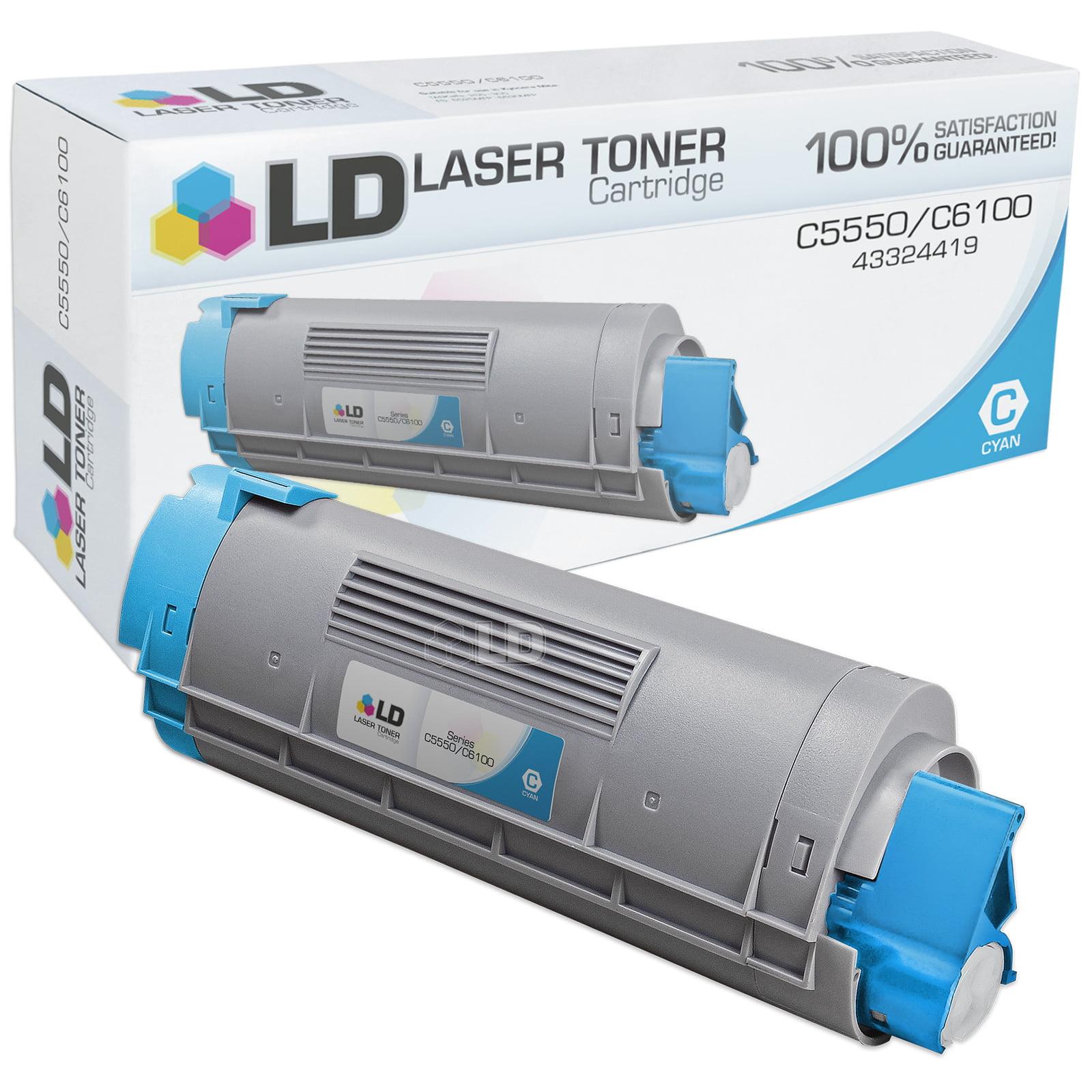 LD Okidata Compatible 43324419 'Type C8' Cyan Laser Toner Cartridge