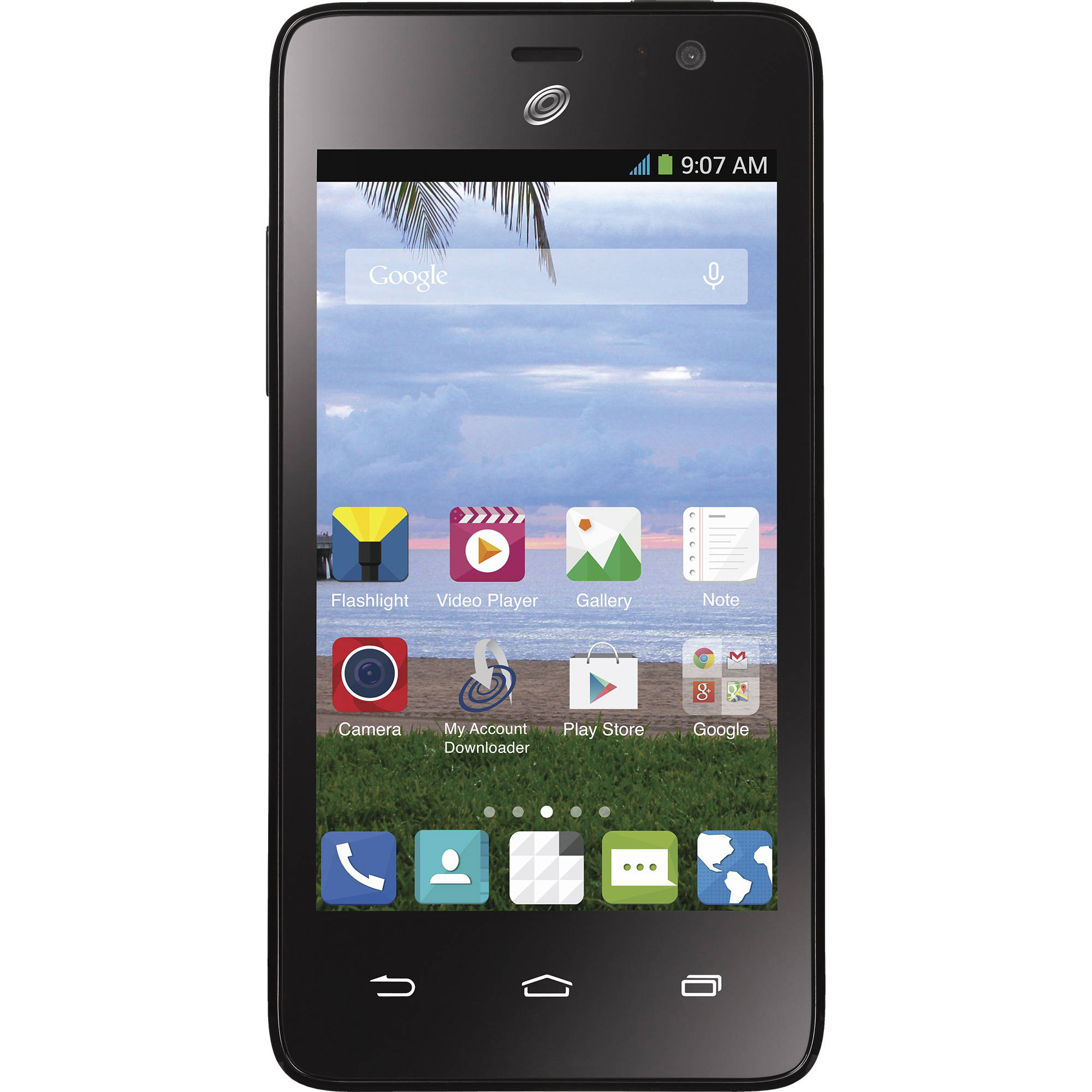 Total Wireless ZTE Zephyr Z752C Prepaid Smartphone
