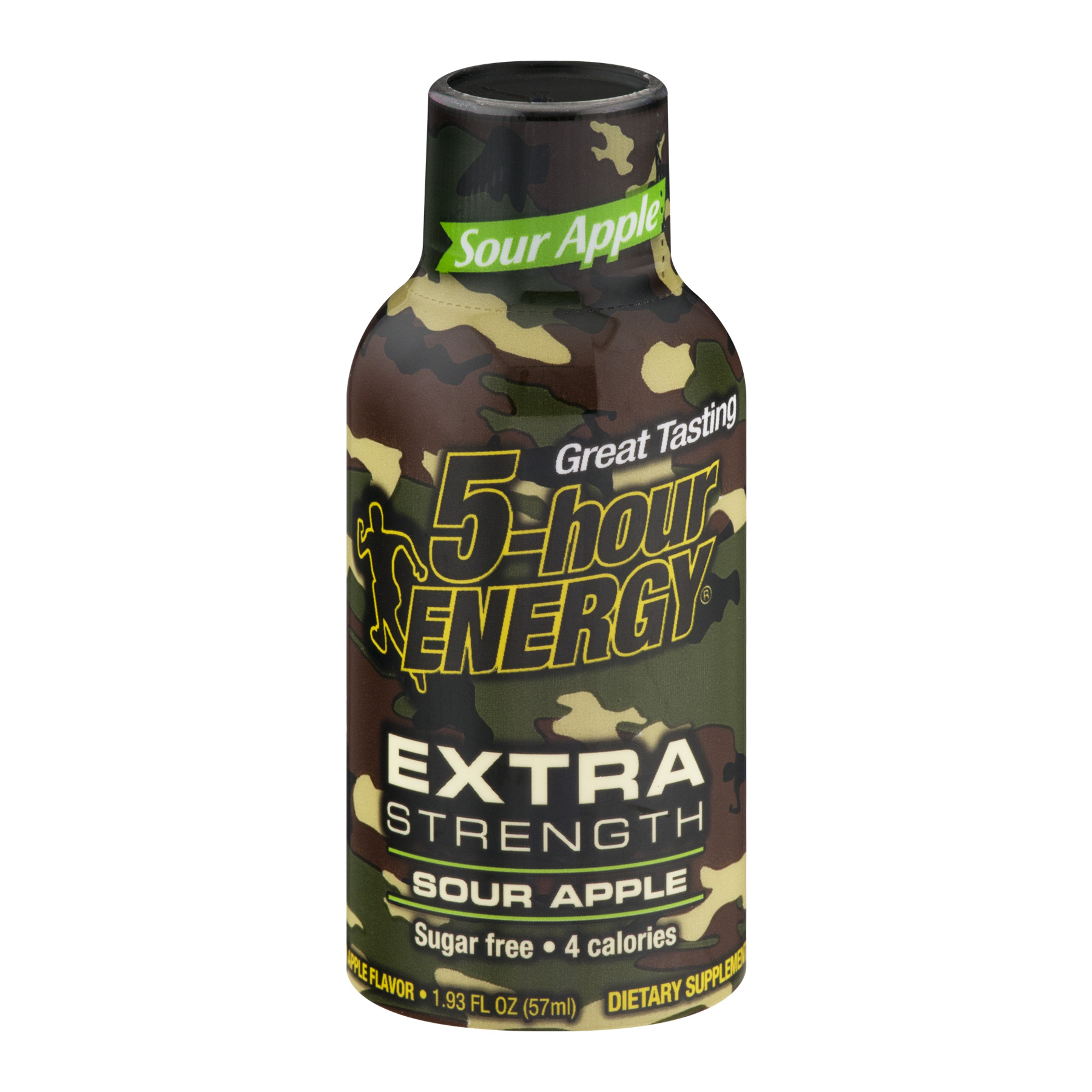 5-Hour Energy Extra Strength Energy Shot, Sour Apple, 1.93 Fl Oz, 1 Ct