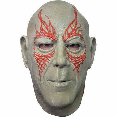 Drax the Destroyer Mask Adult Halloween Accessory - Drax The Destroyer Halloween