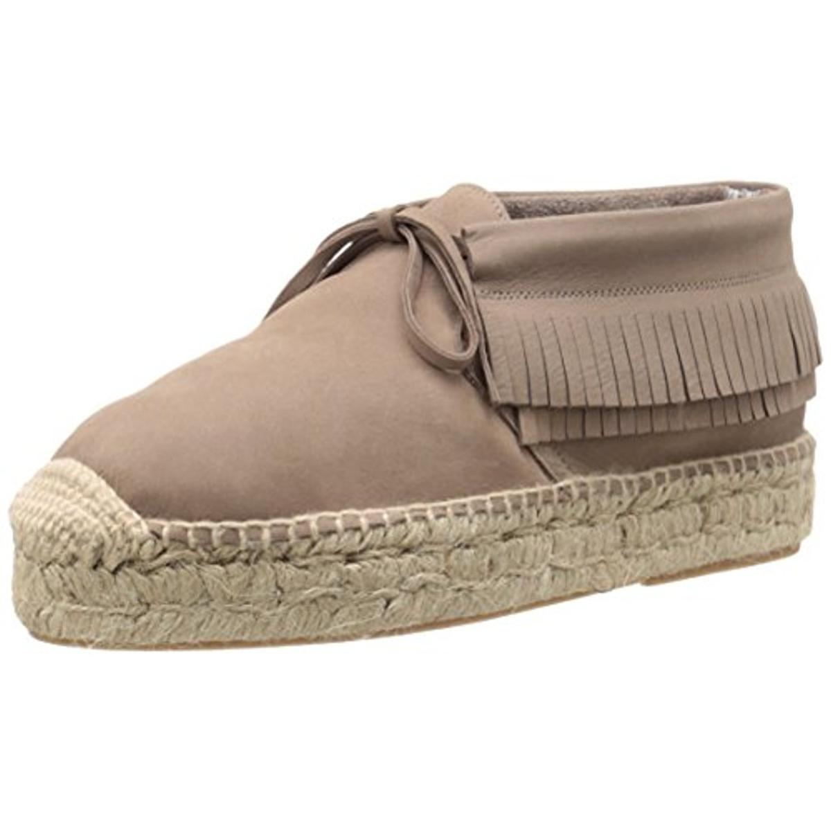 Bettye Muller Womens Podcast Suede Boho Espadrilles