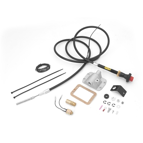 Alloy USA Differential Cable Lock Kit, Lifted; 84-95 Jeep XJ/YJ, for Dana 30 450920