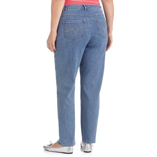 Just My Size Women S Plus Size Slimming Classic Fit