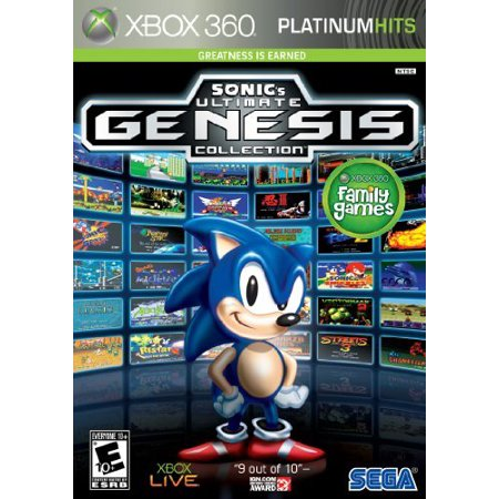 Sonic's Ultimate Genesis Collection, SEGA, XBOX 360, 00010086680348 Sega Genesis Rpg Games