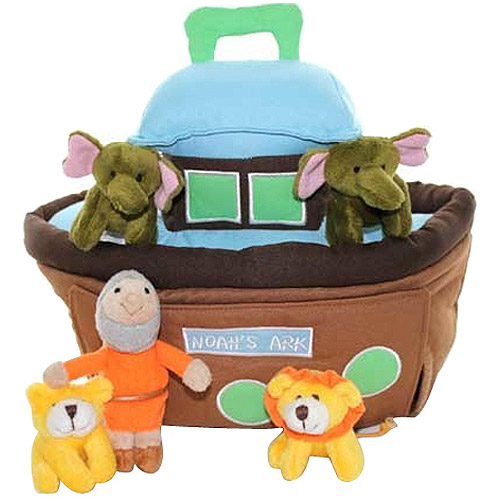 Tales of Glory Plush Noah's Ark 6-Piece Play Set