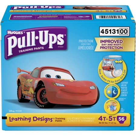 Huggies Pull-Ups Boys Learning Designs Training Pants - Size 4T-5T (56ct)