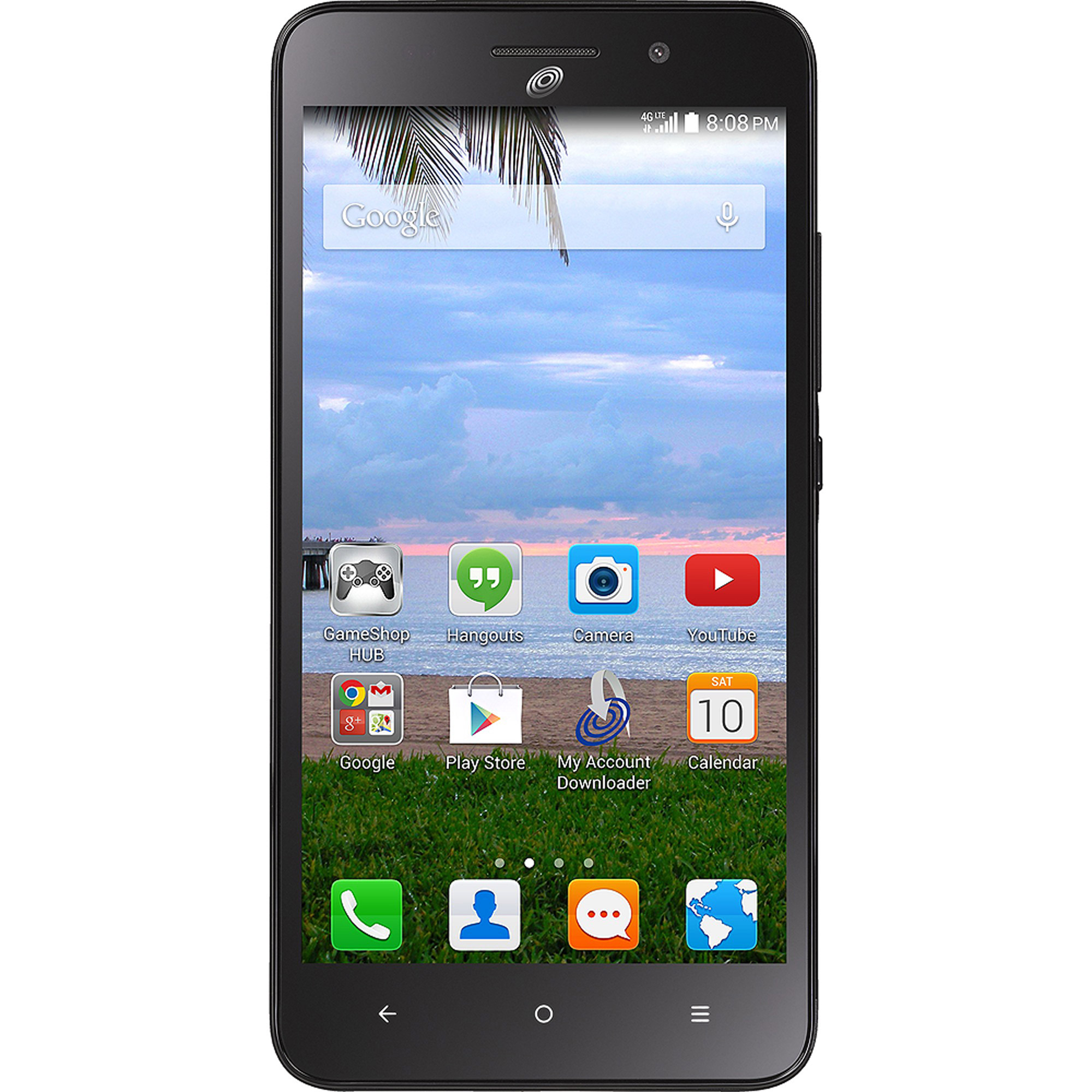 Straight Talk Huawei Raven Android Prepaid Smartphone