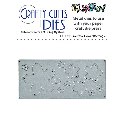 Stampers Anonymous Crafty Cuts Metal Die
